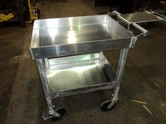 Aluminum Bit Cart C/W Top And Intermediate Tray